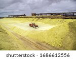 Sulfur Factory. Loading Of...