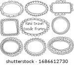 hand drawn doodle vintage... | Shutterstock .eps vector #1686612730