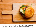 Roasted Vegetable Sandwich....