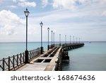 Old Pier In Barbados  Caribbean