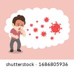 covid 19 protection concept a... | Shutterstock .eps vector #1686805936