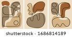 mid century abstract minimal... | Shutterstock .eps vector #1686814189