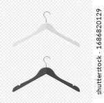 vector 3d realistic clothes... | Shutterstock .eps vector #1686820129