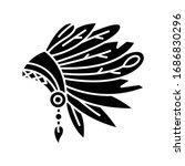 native indian american chief...   Shutterstock .eps vector #1686830296