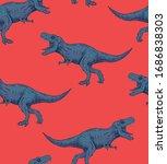 Dinosaur  T Rex  Seamless...