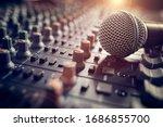 Recording Studio Mixing Desk...