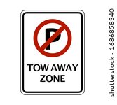 Prohibitive Sign For No Parking ...