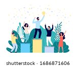 winner ranking. best business... | Shutterstock .eps vector #1686871606