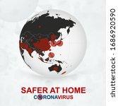 safer at home  coronavirus... | Shutterstock .eps vector #1686920590