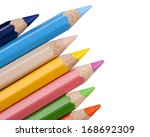 color pencils | Shutterstock . vector #168692309