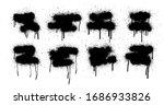 graffiti template spray ... | Shutterstock .eps vector #1686933826