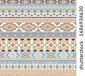 mayan american indian pattern... | Shutterstock .eps vector #1686934630
