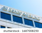 Ernst And Young Logo Atop Of A...