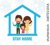 coronavirus  2019 ncov  covid... | Shutterstock .eps vector #1687011016