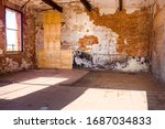 Grungy Textured Interior Of An...