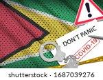Guyana Flag And Police...
