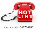 phone hot line concept | Shutterstock . vector #168704903
