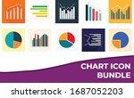 10 chart icon art bundle