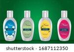 sanitizer bottle with label...   Shutterstock .eps vector #1687112350