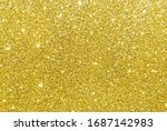 Golden Sparkle Glitter...