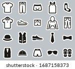men s clothing   accessories... | Shutterstock .eps vector #1687158373