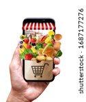 Supermarket Bag In Mobile Phone