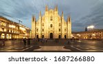 Duomo Di Milano Cathedral In...