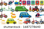 big set of different types of...   Shutterstock .eps vector #1687278640