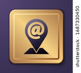 purple location and mail and e...   Shutterstock .eps vector #1687330450