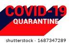 covid 19 coronavirus concept... | Shutterstock .eps vector #1687347289