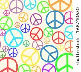 background pattern with retro... | Shutterstock .eps vector #168740630