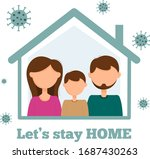 the family remains in... | Shutterstock .eps vector #1687430263