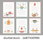 Recipe Cards. Culinary Book...