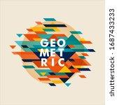 minimalistic design  creative...   Shutterstock .eps vector #1687433233