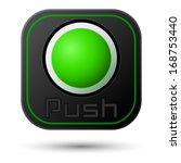 push button isolated on white.... | Shutterstock .eps vector #168753440
