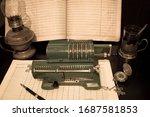 An Old Mechanical Calculator ...
