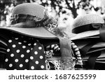 Female Wicker Hats With...