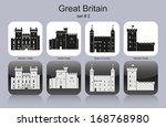 landmarks of great britain. set ... | Shutterstock .eps vector #168768980