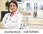 Portrait Of Female Doctor In...