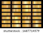 gold background texture vector... | Shutterstock .eps vector #1687714579