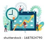 vector illustration business...   Shutterstock .eps vector #1687824790