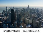 Bird\'s Eye View Of Chicago...