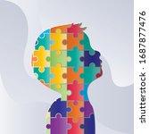 world autism awareness day....   Shutterstock .eps vector #1687877476