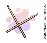vector illustration. crossed...   Shutterstock .eps vector #1687895650