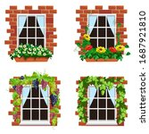 Set Of Home Windows With...