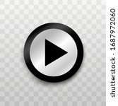 button. play button. play video.... | Shutterstock .eps vector #1687972060