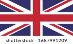 england flag country queen... | Shutterstock .eps vector #1687991209
