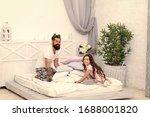 Small photo of She trust him as confidante. Small child and father enjoy fun time. Father and daughter relationship. Family love and trust. Trusting support. Trust relations. Building strong bonds and trust.