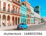Havana  Cuba   April 14  2017 ...