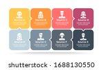 business infographics. process... | Shutterstock .eps vector #1688130550